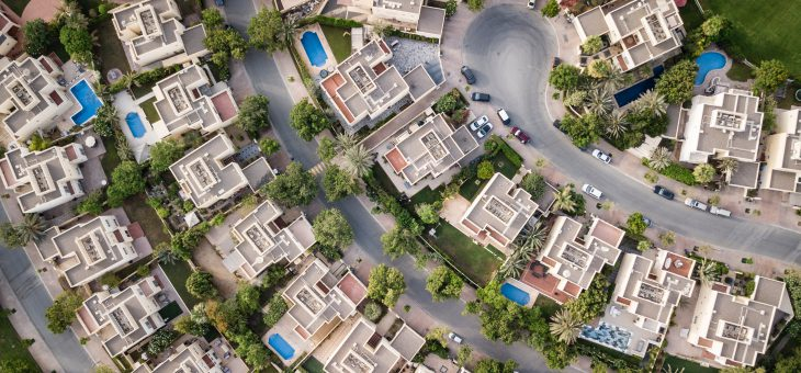 Using drone footage to sell a property