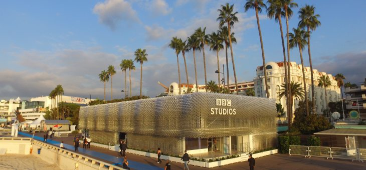 BBC Studios Pavilion at MIPCOM drone video